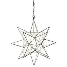 star pendant light star pendant light silver