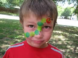 very hungry caterpillar face paint austin texas pintura de cara