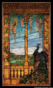 Stained Glass Window Designs For Bathrooms