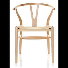 hans wegner furniture. wishbone chair beech and natural cord replica inspired by hans wegner style furniture