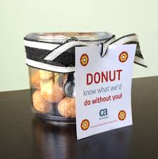 jar with donuts fun easy and inexpensive employee appreciation gift ideas from ca technologies to printable s lifeatca
