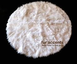 items similar to faux fur round rug plush area round faux fur rug australia