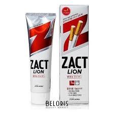 <b>Зубная паста Отбеливающая Zact</b> Lion (CJ Lion) купить в ...
