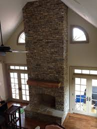 cultured stone veneer indoor fireplace stacked stone charlotte nc