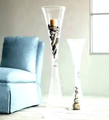 large clear vase large clear vase large glass vase tall glass floor vases reversible cinched glass large clear vase large clear glass