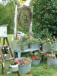 metal tub planter country garden i love things planted in metal tubs wine barrels and giant metal tub planter