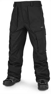 Volcom Pants Size Chart Volcom V Co Twenty One Mens Ski Snowboard Pants Xl Black