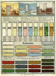 Sears Paint Color Chart Seroco Paint Sears And Roebuck 1918 Vintage Paint