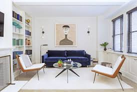 jeremy globerson s new york city apartment living room small space by ashley darryl