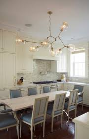 one more lindsey adelman installation i could live in this kitchen