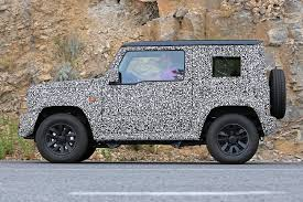 2018 suzuki jimny spy shots. beautiful shots 2018 suzuki jimny and suzuki jimny spy shots