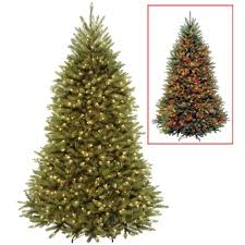 National Tree Company 7.5 ft. PowerConnect Dunhill Fir Artificial ...