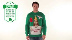 Ugly Christmas Sweater - Happy Birthday Jesus Sweater by Tipsy ...