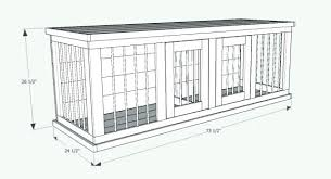 dog kennel building plans wooden furniture built by you outdoor indoor