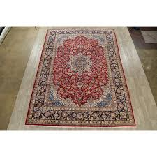 traditional fl najafabad persian oriental hand knotted wool area rug 13 2