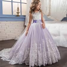 <b>Romantic</b> Lace <b>Puffy Lace</b> Flower Girl Dress Weddings Tulle Ball ...