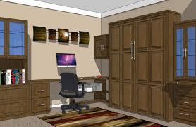 murphy bed office. Home Office 3 Murphy Bed