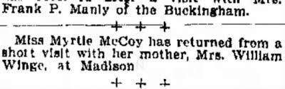 Myrtle McCoy - Newspapers.com