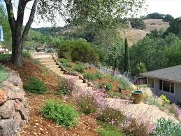 Creative Hillside Landscape Ideas Bistrodre Porch And Landscape