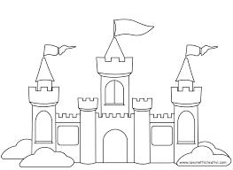 Castello Da Colorare Hrady A Zámky Castello Regole Della Classe