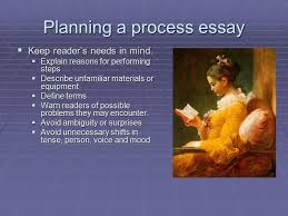the process essay ppt video online planning a process essay