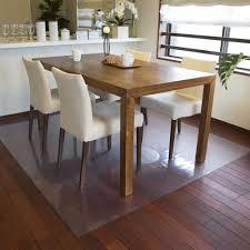 achilles transpa dining table under the mat floor protecting matt 90 x 55 cm