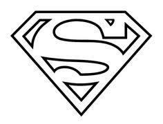 Small Picture Superman Logo Coloring Pages Bing Images Boys Room Pinterest