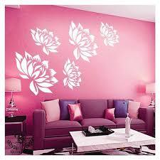 kayra decor printed wall stencil