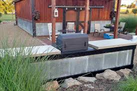 rhbomelconsultcom with and sink yourhyoucom diy how to make a concrete countertop for outdoor kitchen outdoor