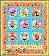 Free Quilt Pattern – Bee Yourself Quilt – Phyllis Dobbs Blog & Free quilt pattern for Bee Yourself Quilt by Phyllis Dobbs Adamdwight.com