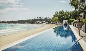 Glass Bottom Balis Best Infinity Pools Sundara At Four Seasons Jimbaran Honeycombers Singapore Balis 30 Best Infinity Pools With Breathtaking Views Honeycombers
