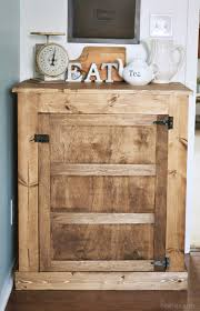Rustic Kitchen Sideboard How To Build A Small Farmhouse Buffet Industrial Rustic