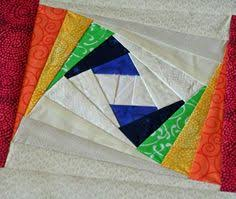 DESI QUILTERS: Nikhat's Twisted Log Cabin LAL - Excellent tutorial ... & Sayler Made: Twisted Log Cabin Blocks Adamdwight.com