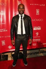 tyson beckford in 7 for all mankind slimmy jeans a g star jacket celebrities in designer jeans from denim blog