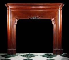 antique gany art deco fireplace mantel
