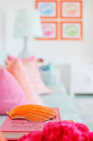 Orange And Pink Bedroom 17 Best Images About Girly Rooms On Pinterest Loft Beds Wood