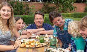 Jamie Oliver shares gorgeous never-before-seen photo with wife Jools and  their sons