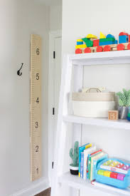 How To Make A Diy Growth Chart For Your Family The Diy