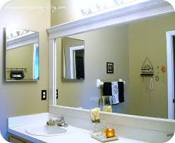modern bathroom mirror frames. Plain Bathroom Picture Frame Bathroom Mirror Awesome Best Mirrors Ideas On  Framed Within Framing A   With Modern Bathroom Mirror Frames