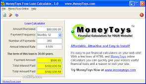 Download Loan Calculator Moneytoys Free Loan Calculator Free Download For Windows 10