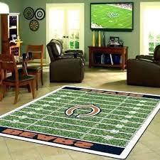 football area rug football field rug carpet marvelous area home football field carpet custom football field