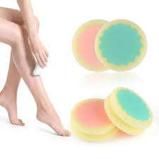 hair removal pads painless smooth skin leg arm face hair removal remover exfoliator depilation sponge skin beauty care tools epilator best epilators