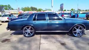 1984 Chevy Caprice Impala on 24s Fresh Paint - YouTube