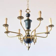 french empire chandelier with arrow design 575