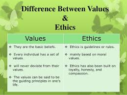 values and ethics raman tsk pulse linkedin key differences between values and ethics