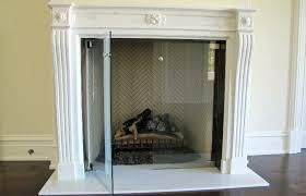 interesting modern glass fireplace doorodern frameless glass fireplace doors with glass door glass