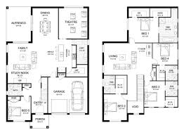 two y residential house floor plan with elevation awesome front elevation for 2 floor house duplex