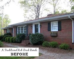 1950s Brick Rancher Curb Appeal PleaseRanch Curb Appeal