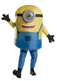 inflatable minion stuart costume