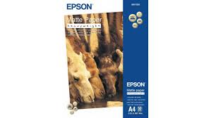 <b>Фотобумага Epson Matte HeavyWeight</b> Paper C13S041256 - Чижик